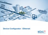 Device config - Ethernet
